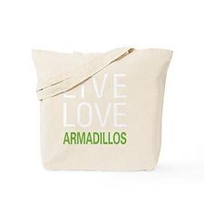 livearmadillo2 Tote Bag