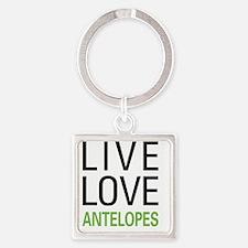 liveantelope Square Keychain