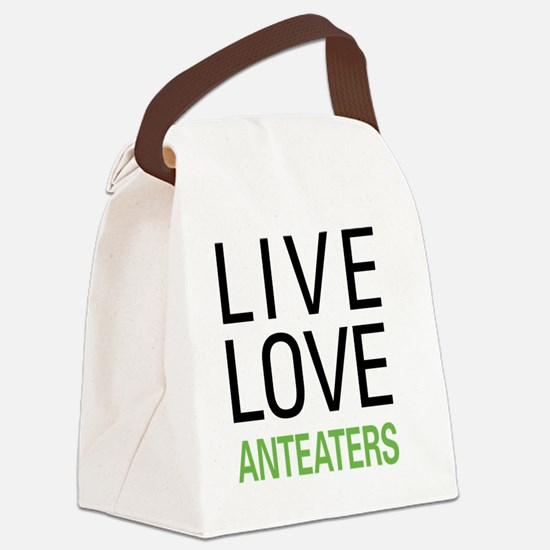 liveanteat Canvas Lunch Bag