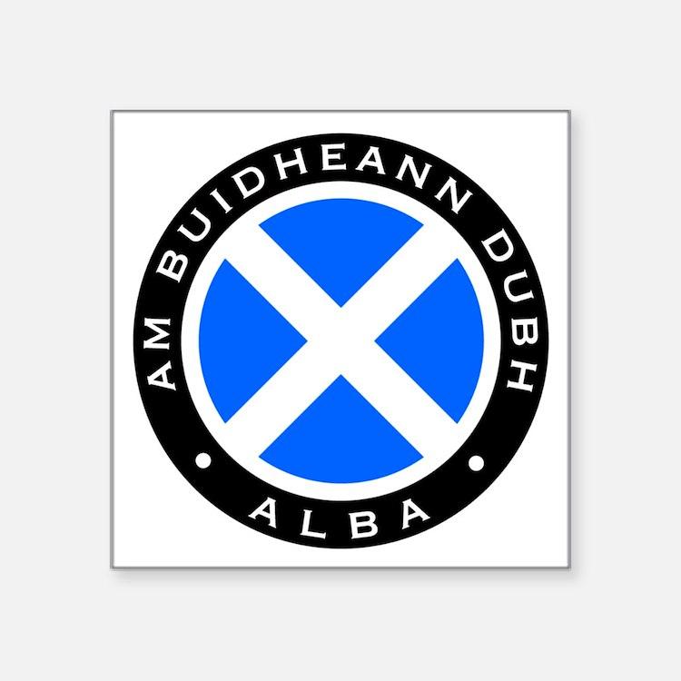 """BD-cafepress-tshirt-logo Square Sticker 3"""" x 3"""""""