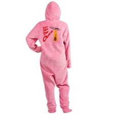 funny oud Footed Pajamas