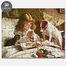 Suspense by Charles Burton Barber Puzzle