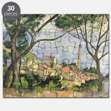 The Sea at lEstaque by Paul Cezanne Puzzle