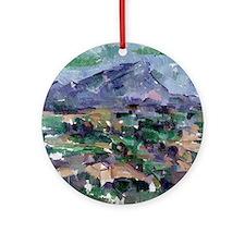 Montagne Sainte-Victoire, 1904-06 b Round Ornament