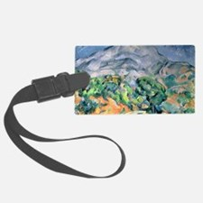 Mont Sainte-Victoire, 1900 by Pa Luggage Tag