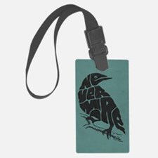 nevermore-tall Luggage Tag