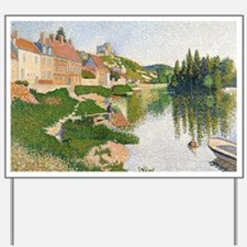 The River Bank, Petit-Andely by Paul Sig Yard Sign