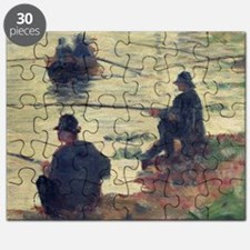 Anglers, Study for La Grande Jatte by Georg Puzzle