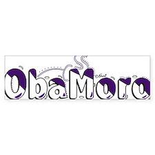 Obamoro Bumper Sticker