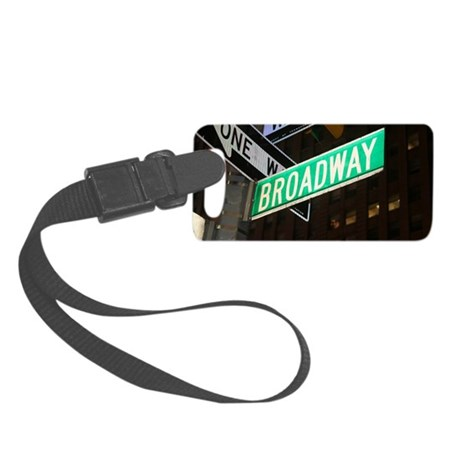 broadway3 Small Luggage Tag