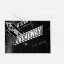 broadway4 Greeting Card