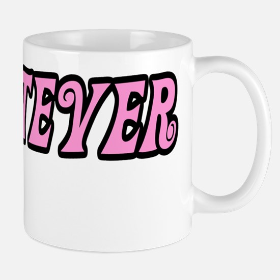 Whatever Black Mug