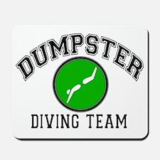 Dumpster Diving Team Mousepad