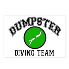 Dumpster Diving Team Postcards (Package of 8)