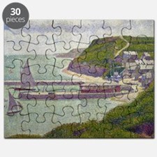 Harbour at Port-en-Bessin at High Tide by G Puzzle