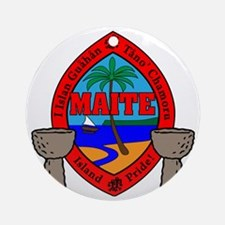 Maite Round Ornament