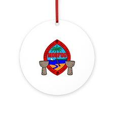Mogfog Round Ornament