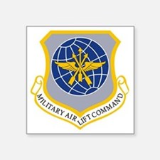 "Military Airlift Command MA Square Sticker 3"" x 3"""