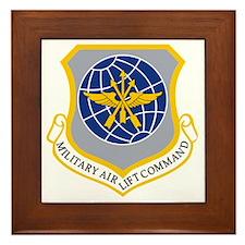 Military Airlift Command MAC Framed Tile