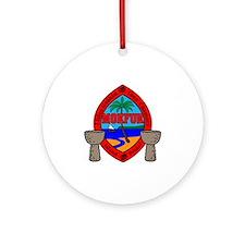 Mokfuk Round Ornament