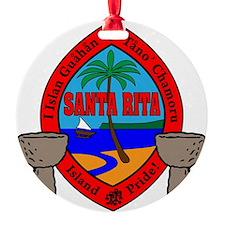 SantaRita Ornament