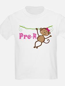 Pre-K Preschool Monkey T-Shirt