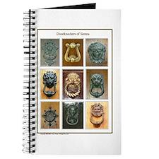 Doorknockers of Sienna (man in center) Journal