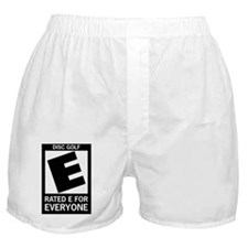 DiscGolf-Rated-E-For-Everyone Boxer Shorts