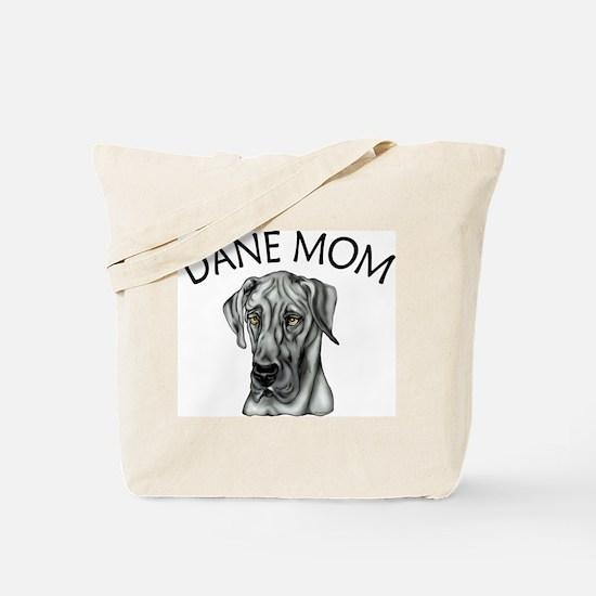 Black UC Dane Mom Tote Bag