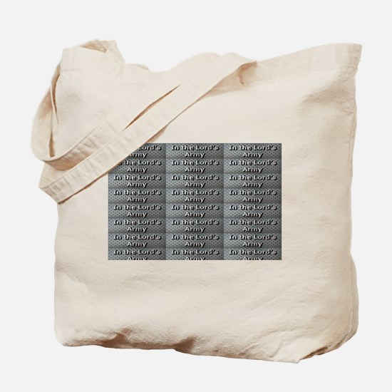 In the Lords Army Tote Bag