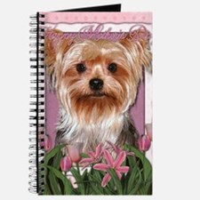 Mothers_Day_Pink_Tulips_Yorkshire_Terrier Journal