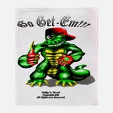 Ray Gator NB (6x6 Size) Throw Blanket