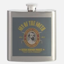 Forrest (SOTS)3 (bluegray) sq Flask