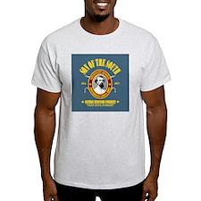 Forrest (SOTS)3 (bluegray) sq T-Shirt
