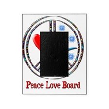 peace love board Picture Frame