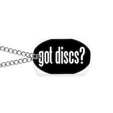 got-discs-oval-black Dog Tags