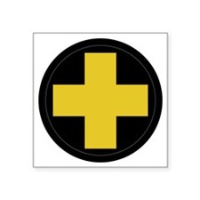 "33rd Infantry Division Square Sticker 3"" x 3"""