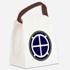 35th Infantry Division Canvas Lunch Bag