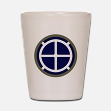 35th Infantry Division Shot Glass