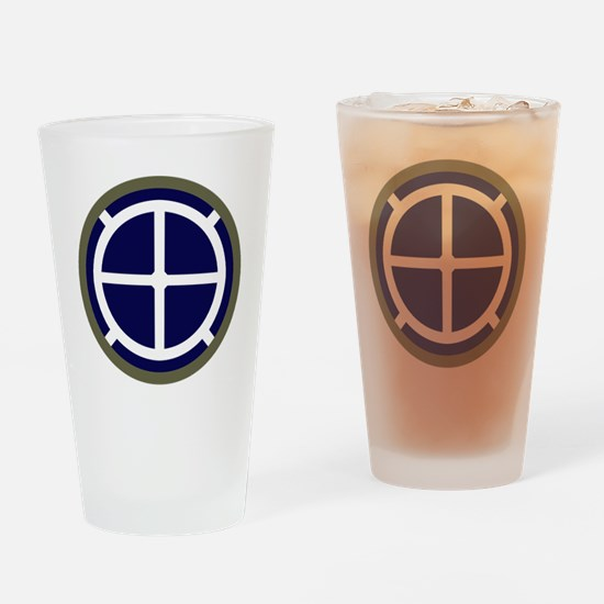 35th Infantry Division Drinking Glass