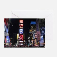 Stunning Times Square New York City Greeting Card