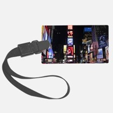 Stunning Times Square New York C Luggage Tag