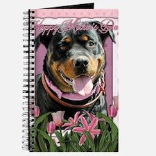 Mothers_Day_Pink_Tulips_Rottweiler_SambaPa Journal