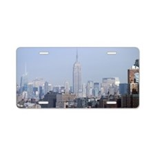 Empire State Building NYC Aluminum License Plate