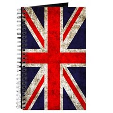 UK Flag Vertical Journal