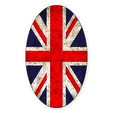 UK Flag Vertical Decal
