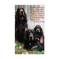 DukeOfGordonSetter2 Decal