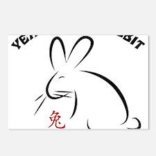 rabbit36light Postcards (Package of 8)