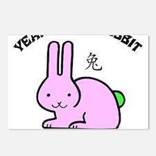 rabbit35light Postcards (Package of 8)