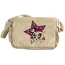 Girly Emo Skull Messenger Bag